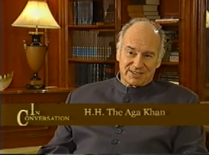 New Video: In Conversation with Aga Khan - Rajiv Mehrotra Interview in India during 2004 Aga Khan Award for Architecture Ceremony