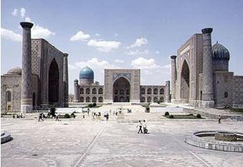 Registan Square Image: Archnet