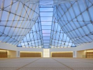 Acclaimed Indian architect Charles Correa has designed a stunning prayer hall for the Ismaili Centre. (Via The Star Online - Malaysia)