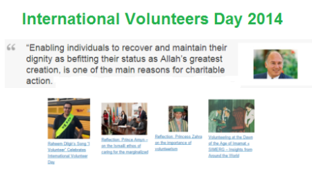 International Volunteers Day 2014