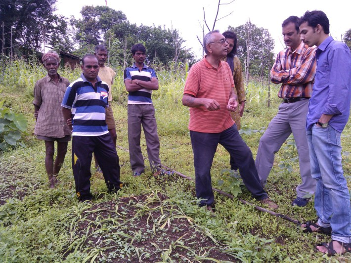 Spirit of Service: Impact of Agriculture Professor Amir Kassam's work in rural India
