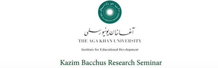 AKU - IED - Kazim Bacchus Research Seminar