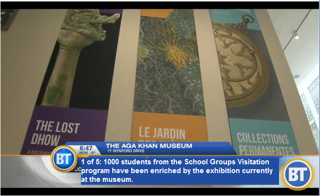 1 of 5: 1000 students from the School Groups Visitation program have been enriched by the exhibition currently at the museum. (via Breakfast Television)