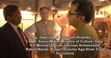 Nizamuddin Urban Renewal Initiative Video: Opening of Chausath Khamba