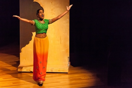 Soprano Maya Kherani stars in Houston Grand Opera's production of River of Light