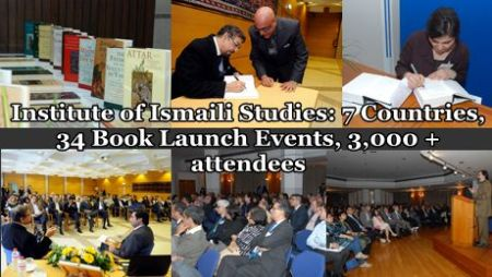 Institute of Ismaili Studies: 7 Countries, 34 Book Launch Events, 3,000 + attendees