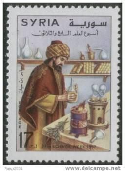 Jabir Bin Hayyan - Geber - Father of Chemistry -  Syria