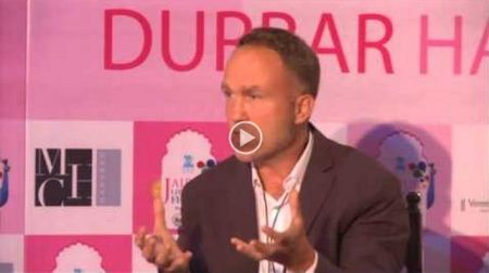 "Presented by Aga Khan Foundation: ""The Buddhas of Bamiyan"" at Jaipur Literature Festival"
