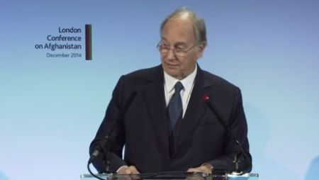 VIDEO SPEECH: His Highness, the Aga Khan at 2014 London Conference on Afghanistan