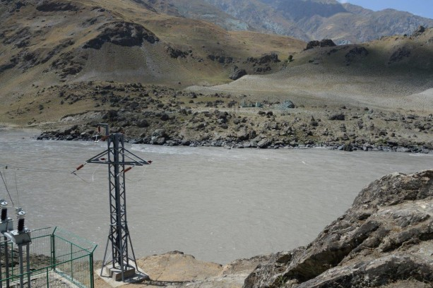 Power for the Afghanistan - Tajikistan border region