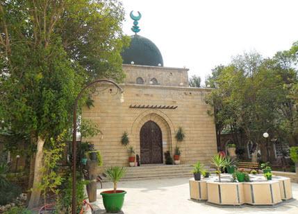 Mausoleum of Prince Aly Khan in Salamiya. Photo: Wikipedia