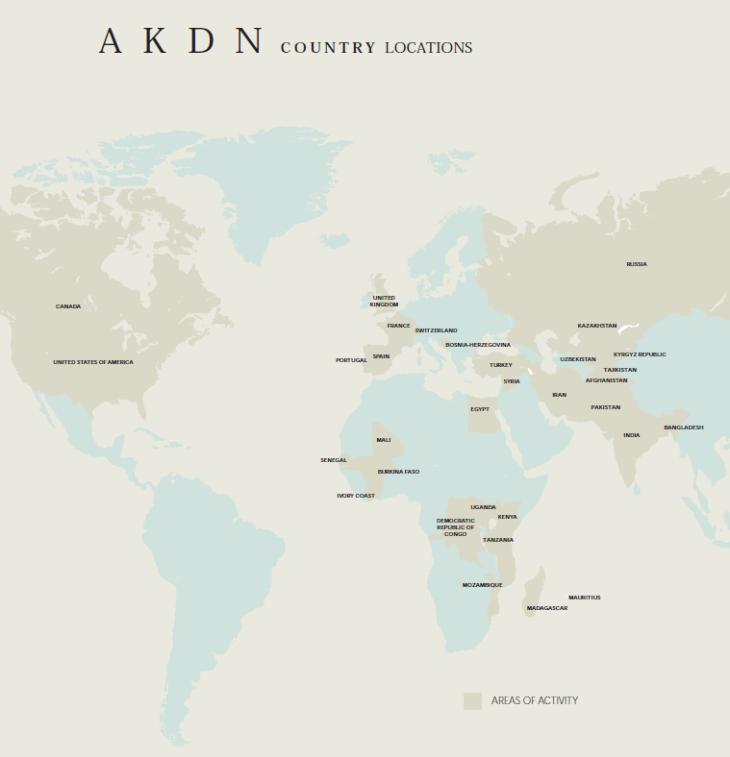 World of AKDN  (Image via AKDN Report - http://viewer.zmags.com/publication/cca7caf9#/cca7caf9/1)