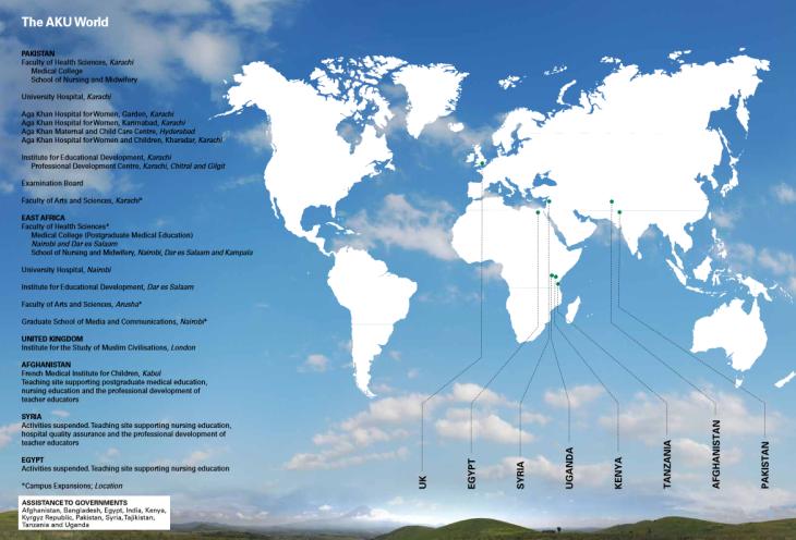 AKU World 2012 - Governments Assitanced