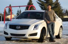Aly Sayani gives feedback on 2014 Cadillac ATS