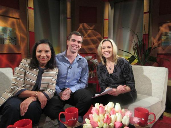 Rumina Velshi participates in TV interview about International Development on behalf of Aga Khan Foundation Canada