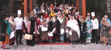Serena Gilgit organizes 2-week long cooking classes for women