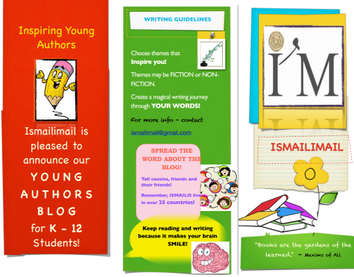 Ismailimail Inspiring Young Authors Blog for K - 12 Students