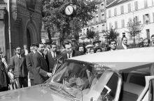 Historical Photographs: Mawlana Sultan Muhammad Shah's Funeral Services in a Mosque in Paris