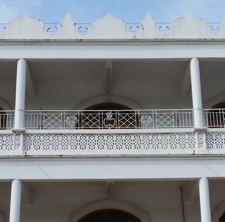 Side facade of Mwanza Jamatkhana. Tanzania