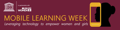 Anar Simpson Presents at UN Women and UNESCO's Mobile Learning Week Conference