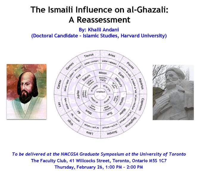 Ismā'īlī Influence on al-Ghazali: Khalil Andani's Presentation on Ismaili Philosophy at the University of Toronto