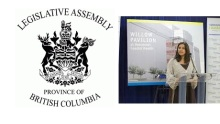 Yasmin Jetha presents to the British Columbia Legislative Assembly Committee on Children and Youth