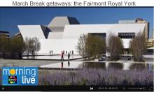 AKM - CHCH - March Break getaways - the Fairmont Royal York