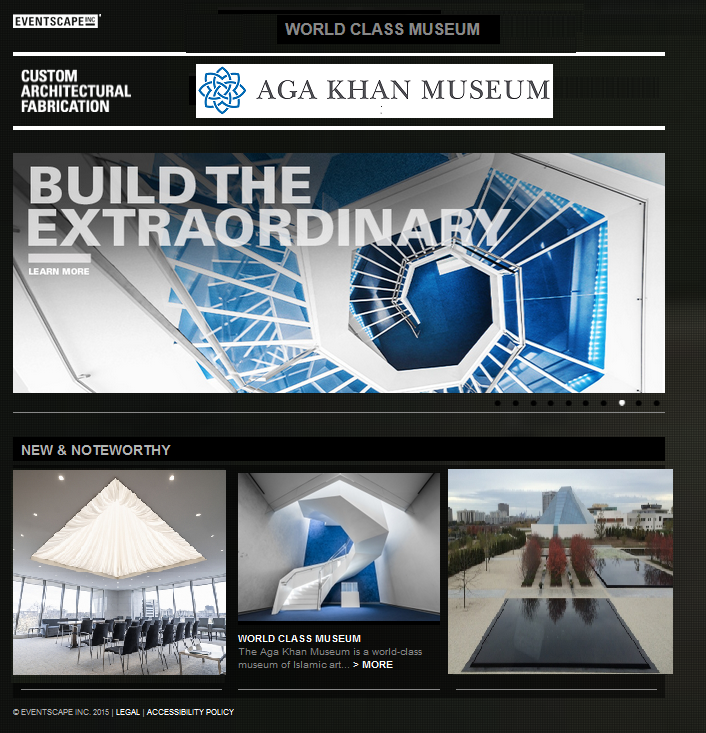 AKM - Eventscape - Building the extraordinary