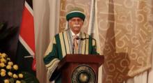AKU 2015 Convocation - Nairobi - AKU President Firoz Rasul