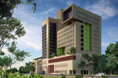 Aga Khan University - Graduate Professional Education Campus, which will house graduate schools for Media and Communications; Leadership and Management; Hospitality, Leisure and Tourism; and an Executive Education Centre. (PHOTO | NATION MEDIA GROUP)