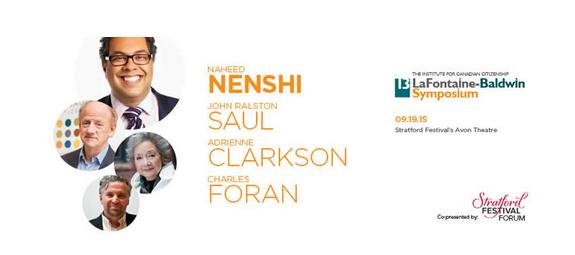 Calgary Mayor Naheed Nenshi  13th LaFontaine-Baldwin Symposium speaker