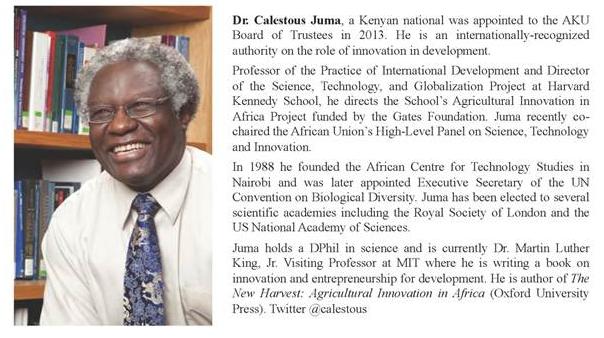 Dr Calestous Juma