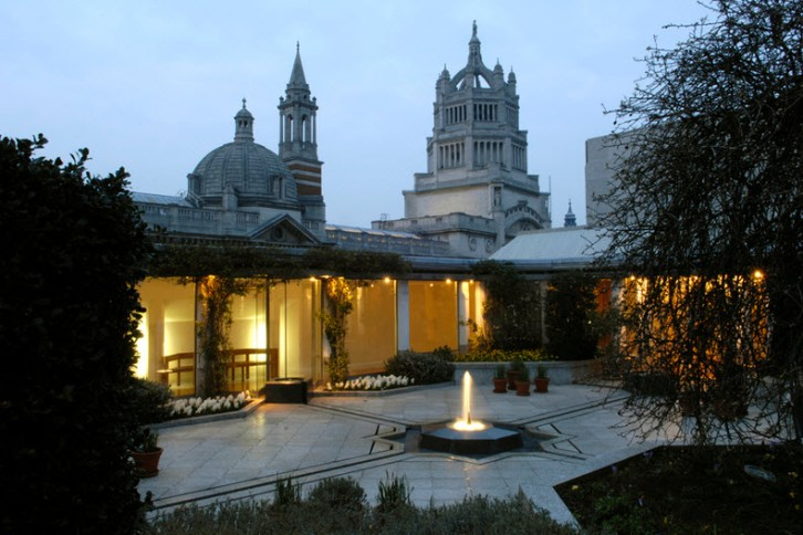 Rooftop garden at the Ismaili Centre London
