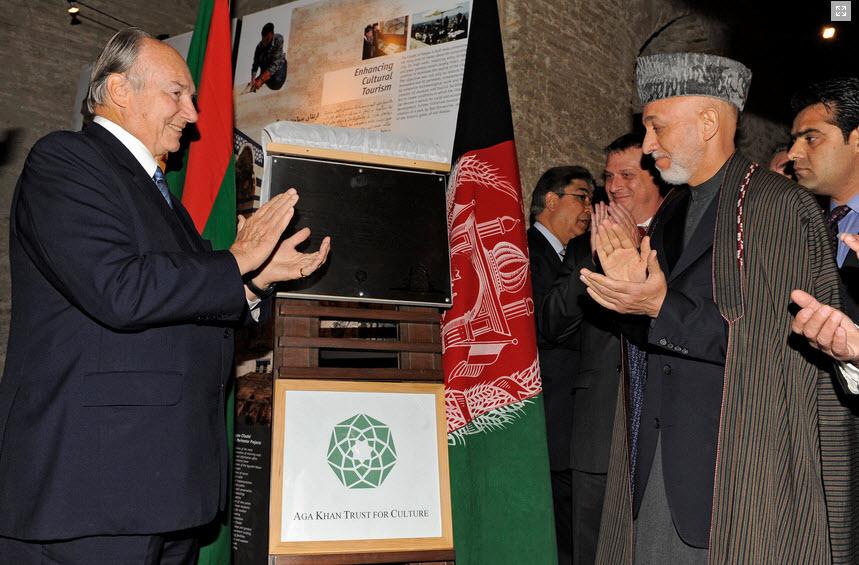 Inauguration of Mausoleum of Timur Shah