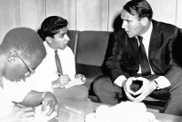 Interviewing Late Prince Sadruddin in Tanzania