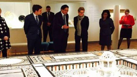 Premier of Ontario, Kathleen Wynne visits Aga Khan Museum