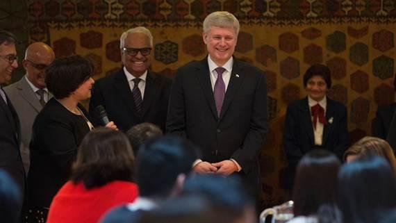 Prime Minister Harper Visits Ismaili Centre, Vancouver