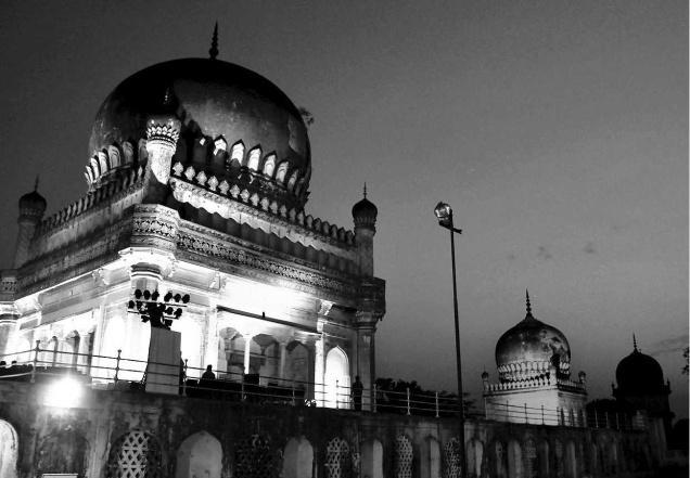 Qutb Shahi tombs (Photo: G. Ramakrishna via The Hindu)