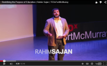 Rahim Sajan at TEDxFortMcMurray