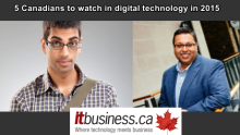 "Salim Teja & Alkarim Nasser among ""5 Canadians to watch for in 2015″"