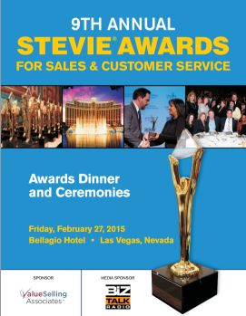 Taleeb Noormohamed receives 2015 Stevie Award for Business Development Executive of the Year