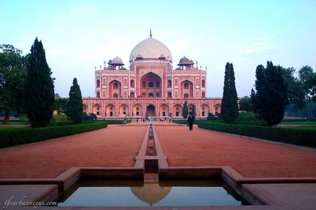 Images of Humayun's Tomb, Delhi, India