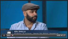Rogers TV: Guest Panel, Adil Dhalla, Director of Culture for the Centre for Social Innovation