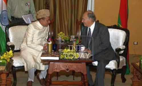 The Aga Khan meets deputy CM Mahmood Ali