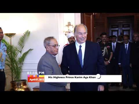 Video: His Highness Prince Karim Aga Khan at Rashtrapati Bhavan