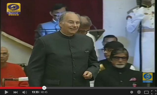 "Video Recording of ""The Civil Investiture Ceremony - II - LIVE"""