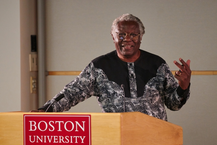 Dr. Calestous Juma, member of the AKU Board of Trustees delivers 2015 Pardee Distinguished Lecture at Boston University