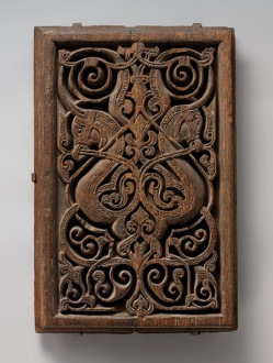 Fatimid panel at the Metropolitan Museum of Art