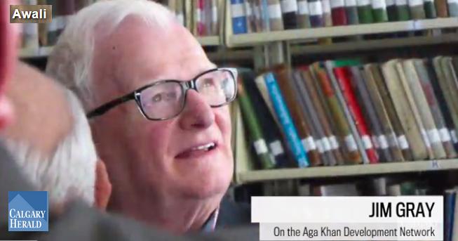 Jim Gray - Awali - Calgary Herald - Aga Khan wants to build a better world