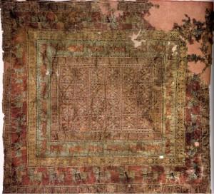 Parzyryk carpet